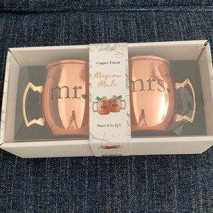 Moscow Mule Mr. & Mrs. Mugs 💍